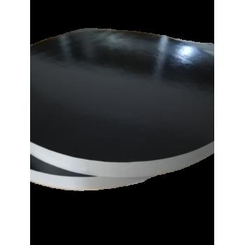 Podkład pod tort ze styroduru czarna podkładka do żywności 26cm