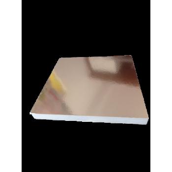 Podkład pod tort ze styroduru złota podkładka do żywności 30cmx30cm